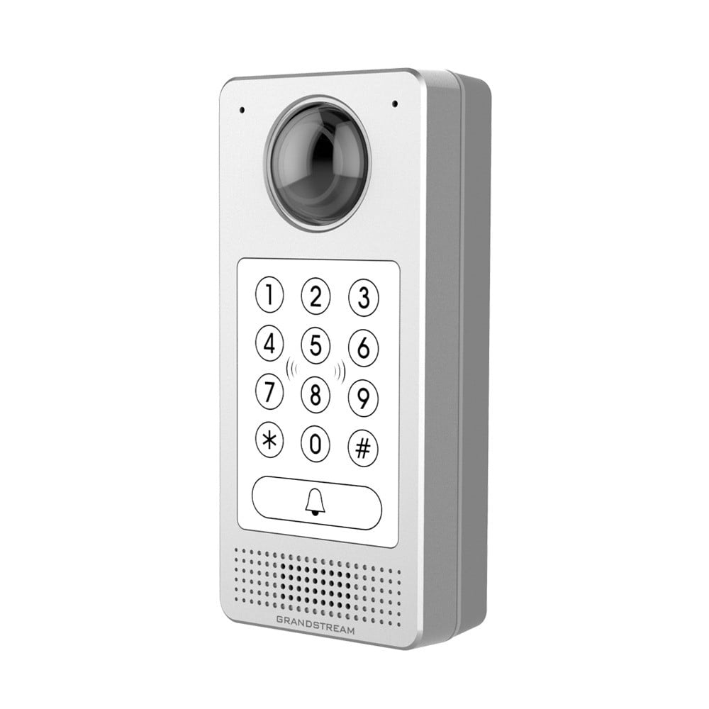Grandstream sip doorstation with keypad active online for Door intercom