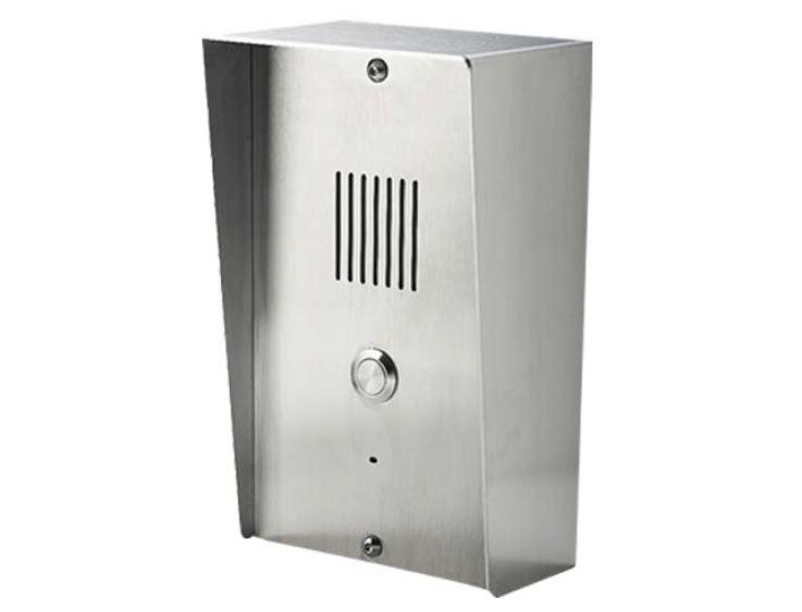 A 4G audio door station for anywhere where connecting a network is difficult or temporary installation required. Works with all networks.The Aristel 4G Intercom and Access Control solution provides an audio intercom with calls to mobile. The intercom can call up to 3 numbers (mobile or landline).It can be programmed with numbers that will cause the gate to open without answering when called. Essentially it detects the caller ID and opens the gate for no call cost.