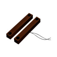 Heavy Duty Hard Wired Reed Switch - Brown