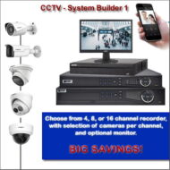 Complete Residential or Business CCTV System Builder