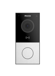 Akuvox E12W Surface Mount Video Intercom with one Button, Card Reader, and WiFi